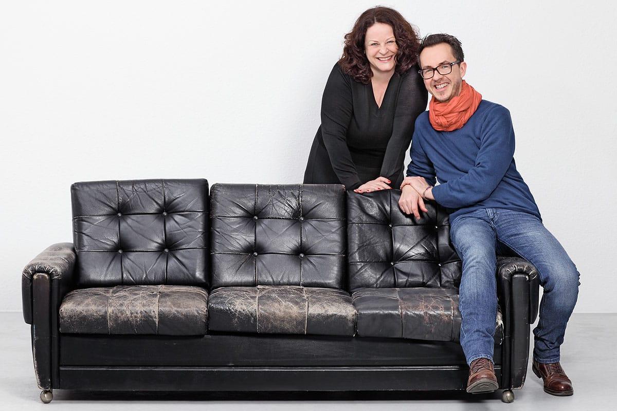 Die Autoren Daniela Bretscher + Elmar Kossel